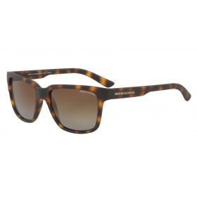 ΓΥΑΛΙΑ ΗΛΙΟΥ Armani Exchange AX4026S 8029T5 56 MATTE HAVANA / POLAR BROWN GRADIENT