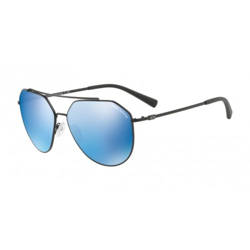 ΓΥΑΛΙΑ ΗΛΙΟΥ Armani Exchange AX2023S 606355 59 MATTE BLACK / BLUE MIRROR BLUE