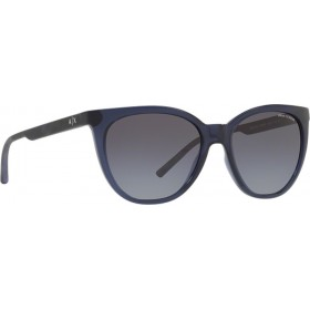 ΓΥΑΛΙΑ ΗΛΙΟΥ Armani Exchange AX4072S 82378G 55 TRANSPARENT BLUE / GREY GRADIENT