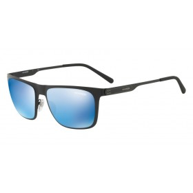 ΓΥΑΛΙΑ ΗΛΙΟΥ Arnette AN3076 501/55 56 BACK SIDE MATTE BLACK / BLUE MIRROR BLUE