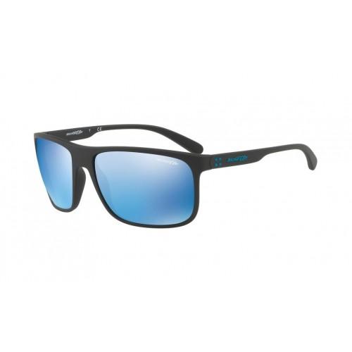 ΓΥΑΛΙΑ ΗΛΙΟΥ Arnette AN4244 01/55 62 BUSHING MATTE BLACK / BLUE MIRROR BLUE