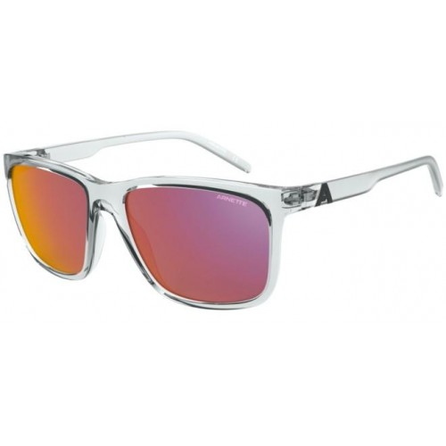 ΓΥΑΛΙΑ ΗΛΙΟΥ Arnette AN4272 26346Q 56 ADIOS BABY - CRYSTAL / DARK GREY MIRROR RED/YELLOW