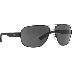 ΓΥΑΛΙΑ ΗΛΙΟΥ Armani Exchange AX2012S 606387 62 SATIN BLACK/BLACK / GREY SOLID