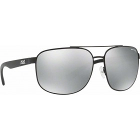 ΓΥΑΛΙΑ ΗΛΙΟΥ Armani Exchange AX2026S 6063Z3 64 MATTE BLACK / POLAR GREY MIRROR SILVER