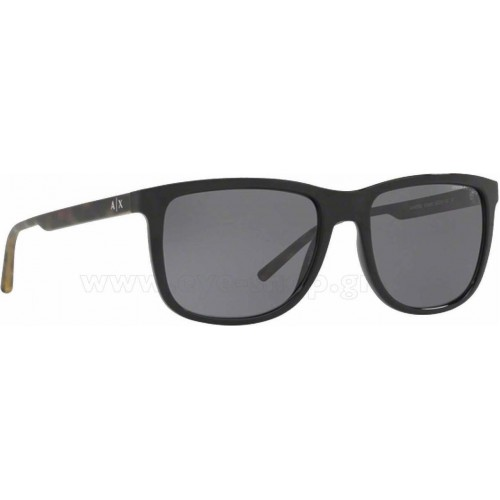 ΓΥΑΛΙΑ ΗΛΙΟΥ Armani Exchange AX4070S 815881 57 BLACK / POLAR GREY