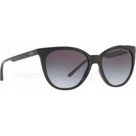 ΓΥΑΛΙΑ ΗΛΙΟΥ Armani Exchange AX4072S 81588G 55 BLACK / GREY GRADIENT