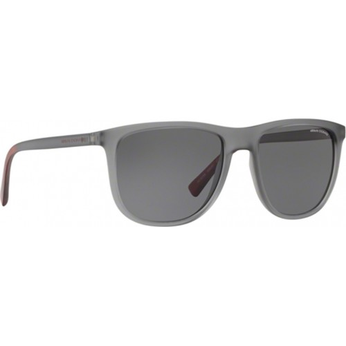 ΓΥΑΛΙΑ ΗΛΙΟΥ Armani Exchange AX4078S 826081 56 MATTE TRANSPARENT SMOKE / POLAR GREY