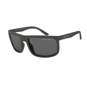 ΓΥΑΛΙΑ ΗΛΙΟΥ Armani Exchange AX4084S 805281 60 MATTE GREY / POLAR GREY