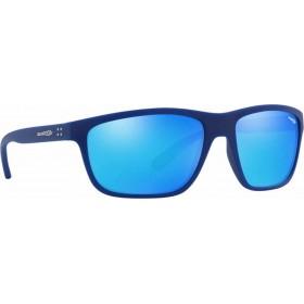 ΓΥΑΛΙΑ ΗΛΙΟΥ Arnette AN4234 255925 61 BOOGER MATTE BLUE / GREEN MIRROR LIGHT BLUE