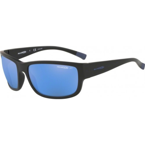ΓΥΑΛΙΑ ΗΛΙΟΥ Arnette AN4256 01/22 62 BUSHWICK MATTE BLACK / DARK GREY MIRROR WATER