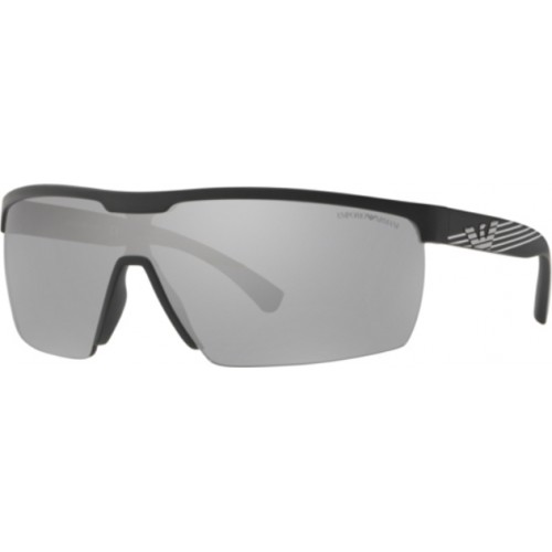 ΓΥΑΛΙΑ ΗΛΙΟΥ Emporio Armani EA4116 50426G 42 MATTE BLACK / LIGHT GREY MIRROR SILVER
