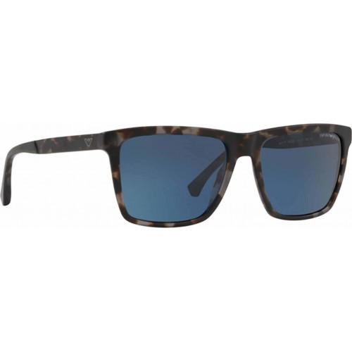 ΓΥΑΛΙΑ ΗΛΙΟΥ Emporio Armani EA4117 570380 57 MATTE GREY HAVANA / DARK BLUE