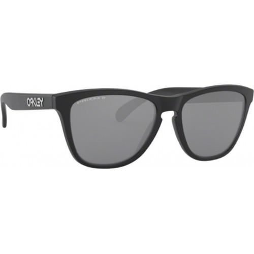 ΓΥΑΛΙΑ ΗΛΙΟΥ Oakley OO9013 9013F7 55 FROGSKINS MATTE BLACK / PRIZM BLACK POLARIZED