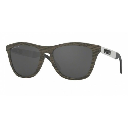 ΓΥΑΛΙΑ ΗΛΙΟΥ Oakley OO9428 942807 55 FROGSKINS MIX WOODGRAIN / PRIZM BLACK POLARIZED