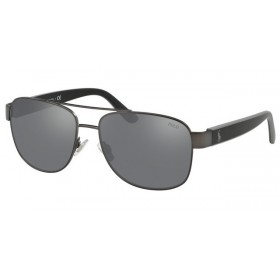 ΓΥΑΛΙΑ ΗΛΙΟΥ Polo PH3122 91576G 59 MATTE DARK GUNMETAL / LIGHT GREY MIRROR