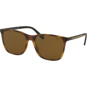 ΓΥΑΛΙΑ ΗΛΙΟΥ Polo PH4143 518273 57 MATTE DARK HAVANA / BROWN