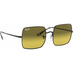 ΓΥΑΛΙΑ ΗΛΙΟΥ Ray-Ban® RB1971 9152AB 54 SQUARE BLACK / PHOTO YELLOW GRADIENT GREEN