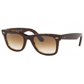 ΓΥΑΛΙΑ ΗΛΙΟΥ Ray-Ban® RB2140 127651 50 WAYFARER TOP BROWN ON YELLOW HAVANA / CLEAR