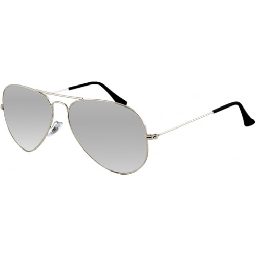 ΓΥΑΛΙΑ ΗΛΙΟΥ Ray-Ban® RB3025 003/40 62 AVIATOR METAL SILVER / CRYSTAL GREY MIRROR