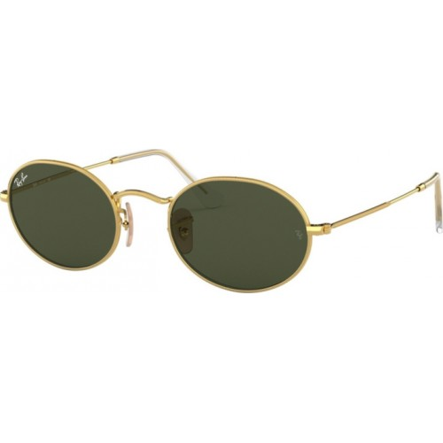 ΓΥΑΛΙΑ ΗΛΙΟΥ Ray-Ban® RB3547 001/31 54 OVAL GOLD / GREEN