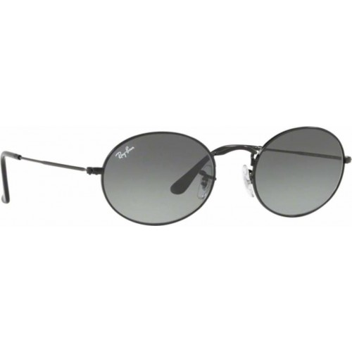 00da7e0d0d ΓΥΑΛΙΑ ΗΛΙΟΥ Ray-Ban® RB3547N 002 71 54 OVAL FLAT LENCES BLACK ...