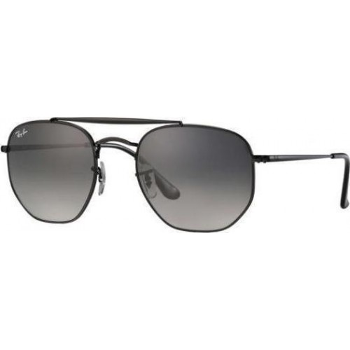 ΓΥΑΛΙΑ ΗΛΙΟΥ Ray-Ban® RB3648 002/71 54 THE MARSHAL BLACK / GRAY GREEN