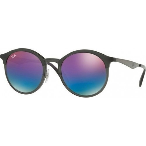 ΓΥΑΛΙΑ ΗΛΙΟΥ Ray-Ban® RB4277 6324B1 51 EMMA MATTE GREY / GREEN MIRROR BLUE GRAD VIOLET
