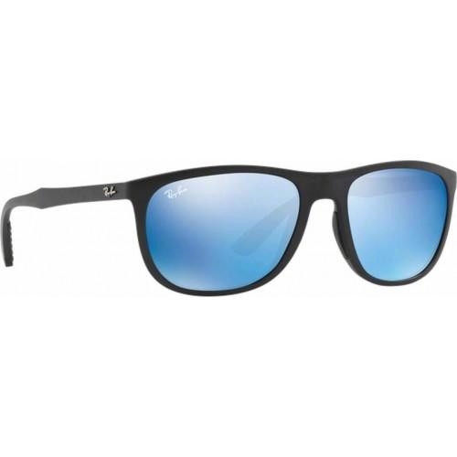 ΓΥΑΛΙΑ ΗΛΙΟΥ Ray-Ban® RB4291 601S55 58 MATTE BLACK / BLUE MIRROR BLUE