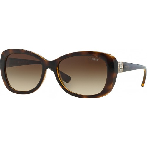 ΓΥΑΛΙΑ ΗΛΙΟΥ Vogue VO2943SB W65613 55 DARK HAVANA / BROWN GRADIENT