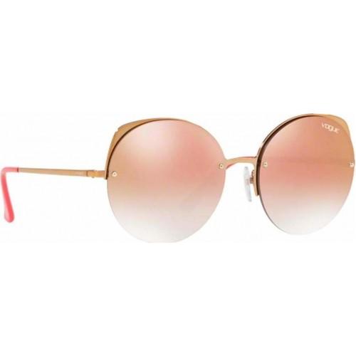 ΓΥΑΛΙΑ ΗΛΙΟΥ Vogue VO4081S 50756F 55 LIGHT PINK GOLD / GRADIENT PINK MIRROR PINK