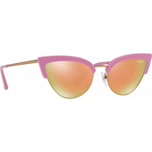 ΓΥΑΛΙΑ ΗΛΙΟΥ Vogue VO5212S 26114Z 55 LIGHT PINK/LIGHT PINK GOLD / GREY MIRROR ROSE