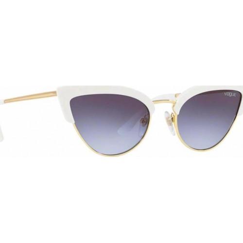 ΓΥΑΛΙΑ ΗΛΙΟΥ Vogue VO5212S W7454Q 55 WHITE/GOLD / LIGHT VIOLET GRAD DARK GREY
