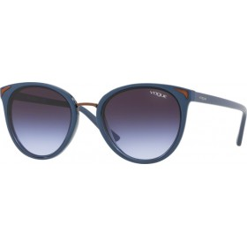 ΓΥΑΛΙΑ ΗΛΙΟΥ Vogue VO5230S 27004Q 54 TOP BLUE/TRANSPARENT BLUE / LIGHT VIOLET GRAD