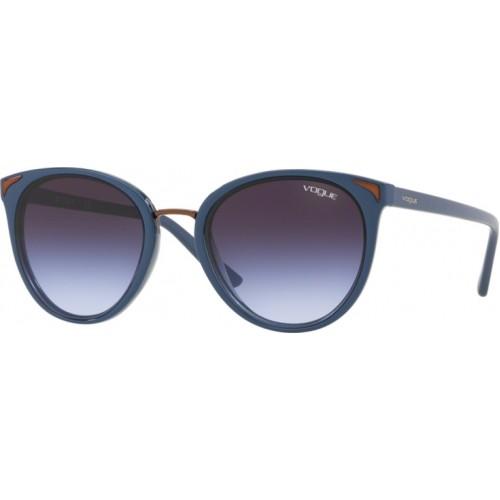 ΓΥΑΛΙΑ ΗΛΙΟΥ Vogue VO5230S 27004Q 54 TOP BLUE/TRANSPARENT BLUE / LIGHT VIOLET GRAD