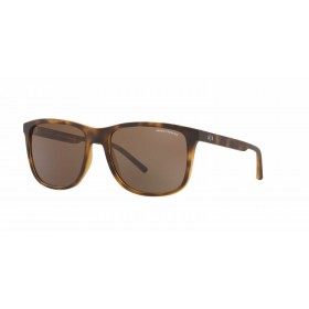 ΓΥΑΛΙΑ ΗΛΙΟΥ Armani Exchange AX4070S 802973 57 - MATTE HAVANA / BROWN