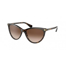 ΓΥΑΛΙΑ ΗΛΙΟΥ Ralph Lauren RA5270 500313 55 - DARK HAVANA / GRADIENT BROWN