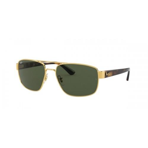 ΓΥΑΛΙΑ ΗΛΙΟΥ Ray-Ban® RB3663 001/31 60 - SHINY GOLD / GREEN