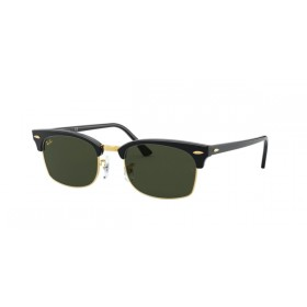 ΓΥΑΛΙΑ ΗΛΙΟΥ Ray-Ban® RB3916 130331 52 CLUBMASTER SQUARE - SHINY BLACK / GREEN