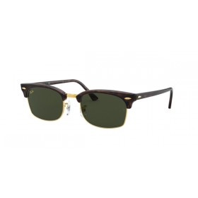 ΓΥΑΛΙΑ ΗΛΙΟΥ Ray-Ban® RB3916 130431 52 CLUBMASTER SQUARE - MOCK TORTOISE / GREEN