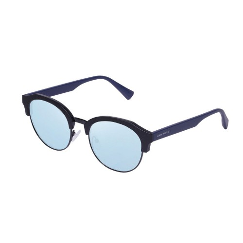 ΓΥΑΛΙΑ ΗΛΙΟΥ Hawkers ROCTR06 Black Navy Blue Chrome Classic Rounded