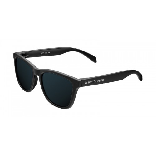 ΓΥΑΛΙΑ ΗΛΙΟΥ Northweek RE09 REGULAR DUKE - MATTE BLACK BLACK POLARIZED