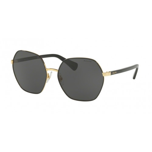 ΓΥΑΛΙΑ ΗΛΙΟΥ Ralph Lauren RA4124 933787 60 SHINY GOLD WITH BLACK / GREY