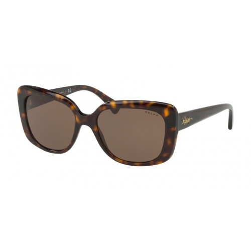 ΓΥΑΛΙΑ ΗΛΙΟΥ Ralph Lauren RA5241 500373 55 SHINY DARK HAVANA / BROWN