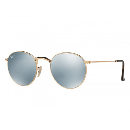 Γυαλια ηλιου Ray-Ban® RB3447N 001/30 50 ROUND FLAT LENSES GOLD