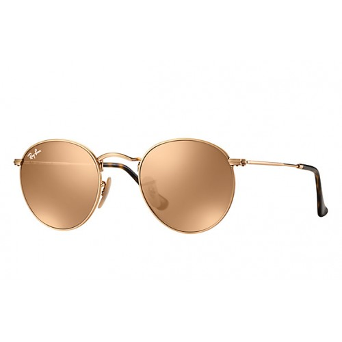 Γυαλια ηλιου Ray-Ban® RB3447N 001/Z2 50 ROUND FLAT LENSES GOLD