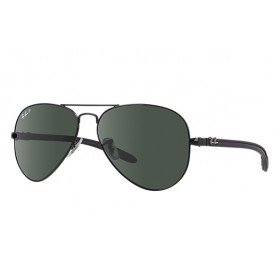 Γυαλια ηλιου Ray-Ban® RB8307 002/N5 58 Aviator Carbon Fibre, polarized