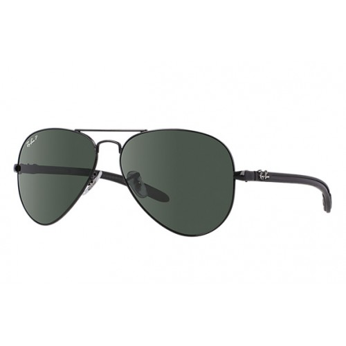 Γυαλια ηλιου Ray-Ban® RB8307 002 N5 58 Aviator Carbon Fibre ... 2ed8f444551