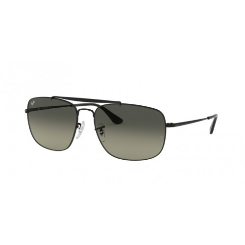 ΓΥΑΛΙΑ ΗΛΙΟΥ Ray-Ban® RB3560 002/71 61 THE COLONEL BLACK / LIGHT GREY GRADIENT DARK GREY