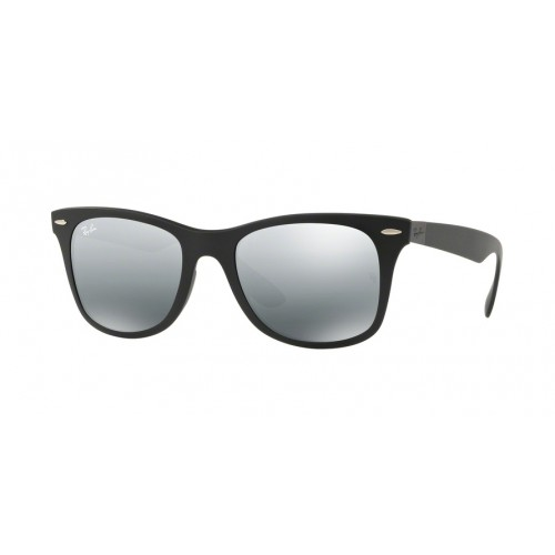 ΓΥΑΛΙΑ ΗΛΙΟΥ Ray-Ban® RB4195 601S88 52 WAYFARER LITEFORCE MATTE BLACK / GREY MIRROR SILVER GRADIENT