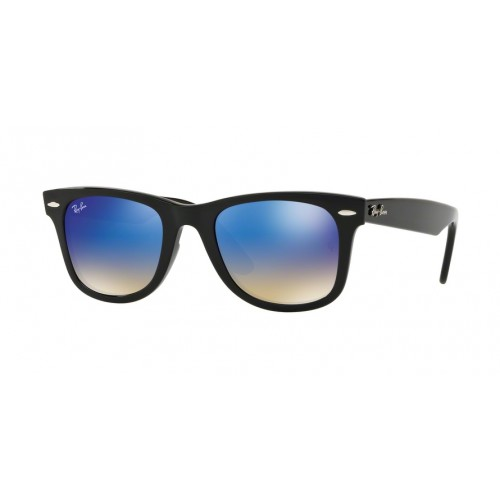 ΓΥΑΛΙΑ ΗΛΙΟΥ Ray-Ban® RB4340 601/4O 50 WAYFARER BLACK / BROWN GRADIENT BROWN MIRROR BL